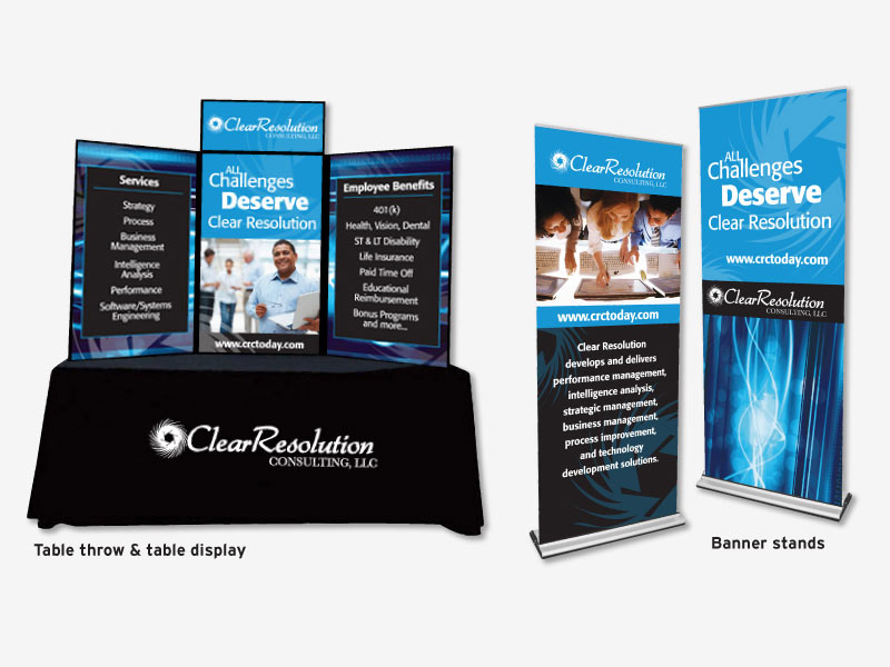 Trade Show Booth Banners : Millennium marketing solutions