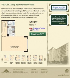 Topaz house floor plan and information