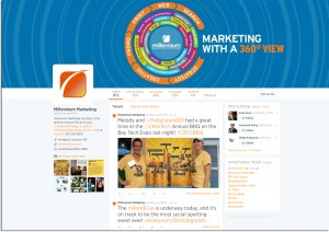 Millennium Marketing Solutions twitter home page