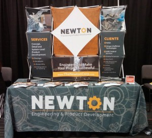 Newton Trade Show Display