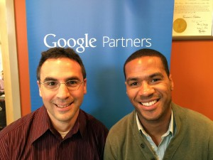 Eron and James picture with google partners