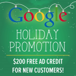 Google holiday promotion flyer
