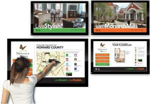 Interactive Digital Signage Company Columbia MD