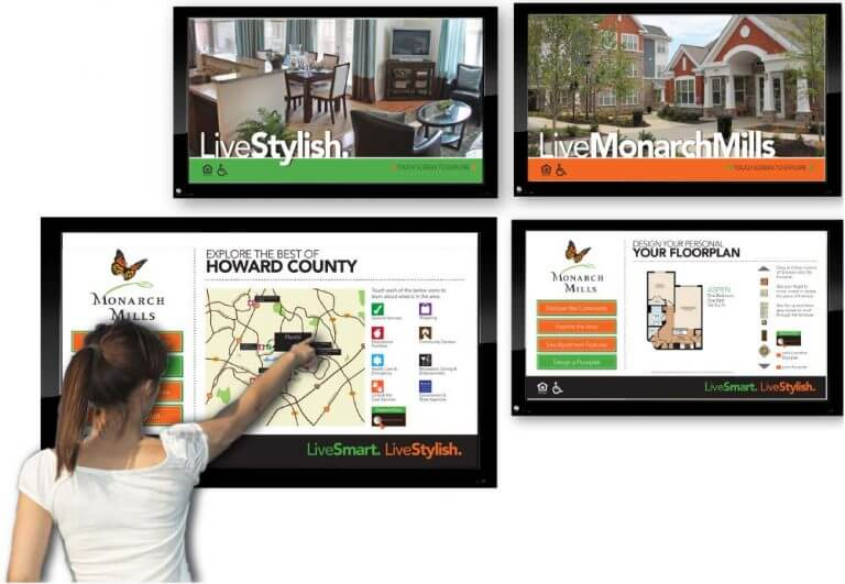 Digital Signage - Interactive Digital Signs for Apartments, Hospitals and Other Businesses