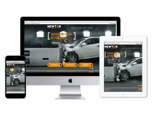 Newton Corporation website