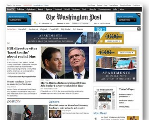 The Washington Post with a remarketing campaign for 4000 Massachusetts Avenue Apartments