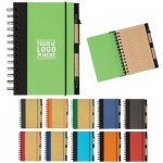 Eco-Friendly 5″ x 7″ Spiral Notebook & Pen
