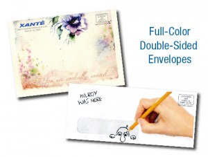 Full Color Double Sideed Envelopes