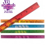 Mood Ruler that changes color based on the warmth of the user's hand
