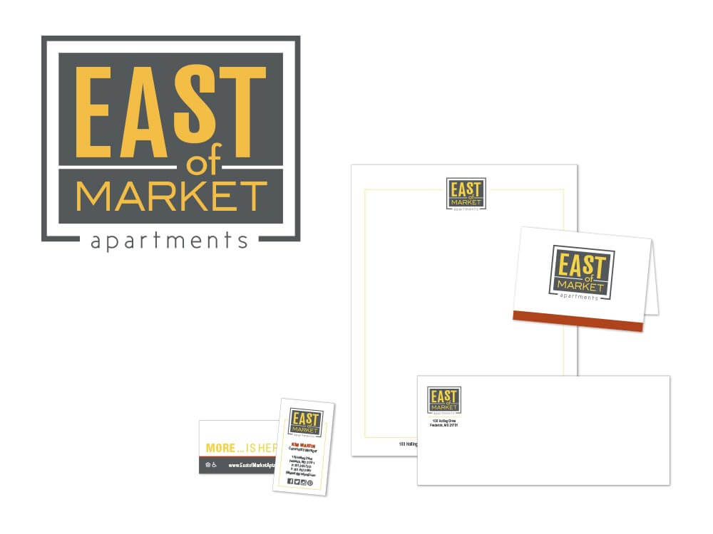 East of Market Stationery Package