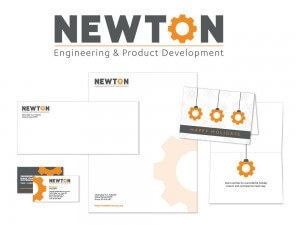 Newton Corporation Stationery Package
