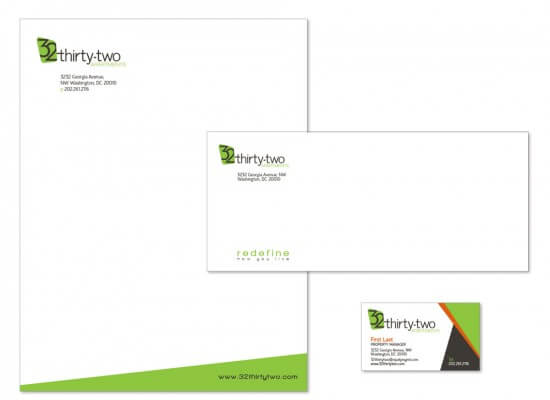 3232 Apartments Stationery Package