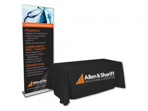 Allen & Shariff Trade Show Display