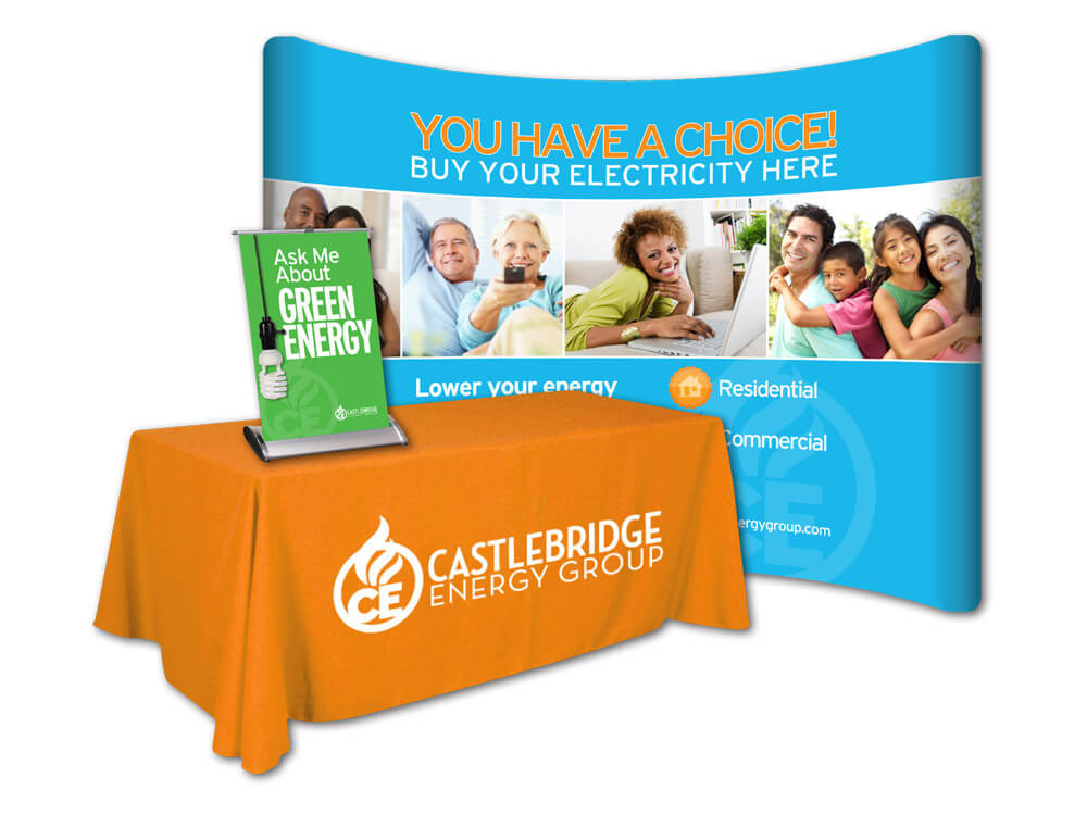 Castlebridge Energy Group Trade Show Display