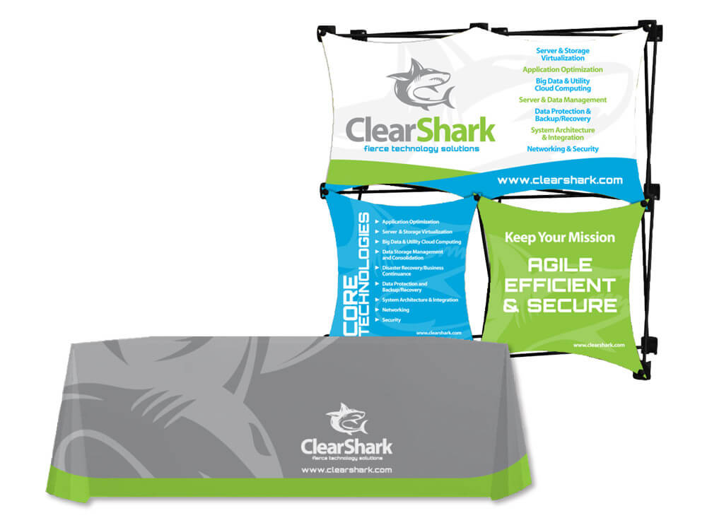 ClearShark Trade Show Display