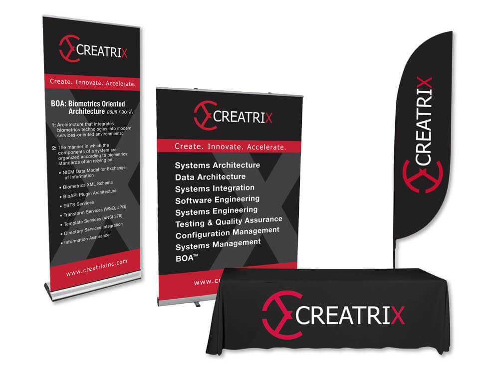 Creatrix Trade Show Display