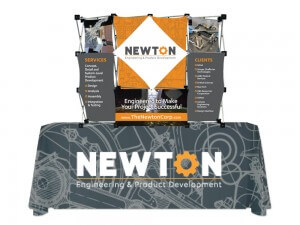 Newton Trade Show Graphics