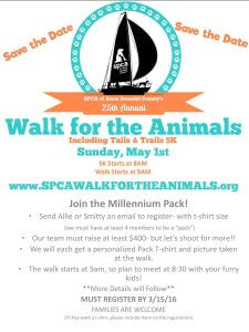 SPCA of Anne Arundel country's 25th annual walk for the animals