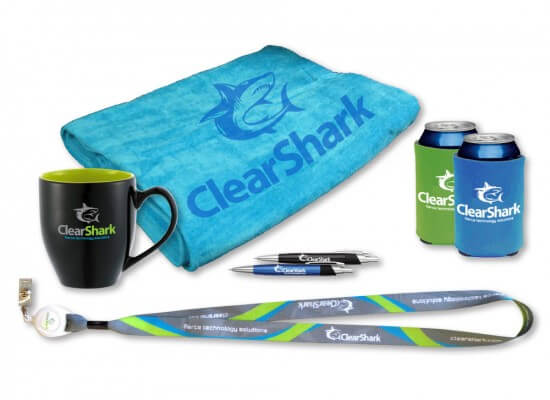ClearShark brand apparel and merchandise