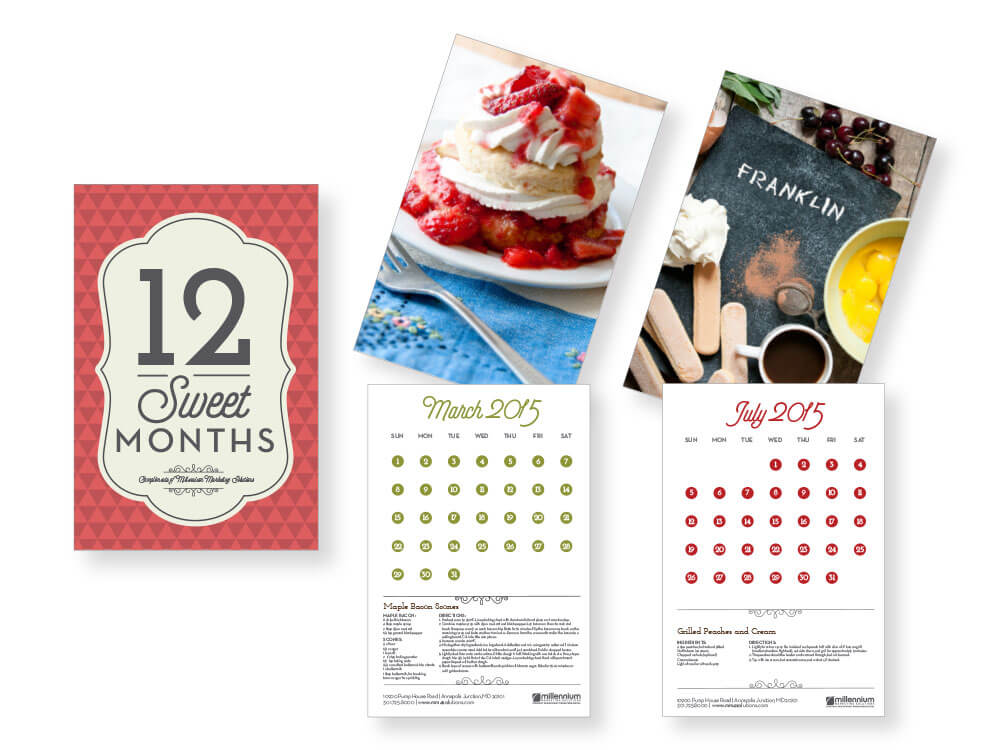 Millennium Marketing calendar