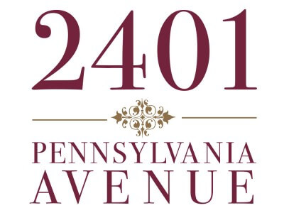 2401 Pennsylvania avenue logo
