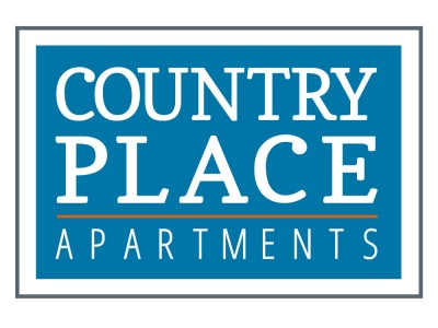 Country place apartments sign