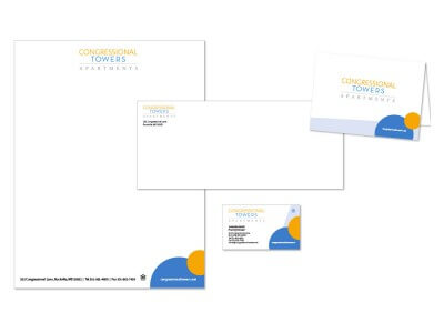 Congressional towers stationery