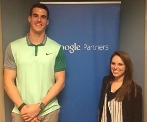 Google partners sign with two people
