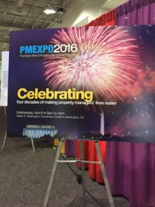 PMEXPO 2016 sign
