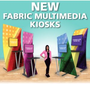 new fabric multimedia kiosks