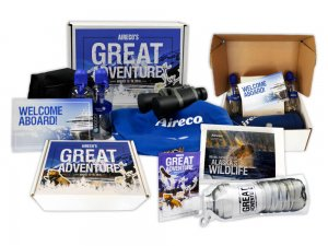 Aireco's great adventure brand merchandise