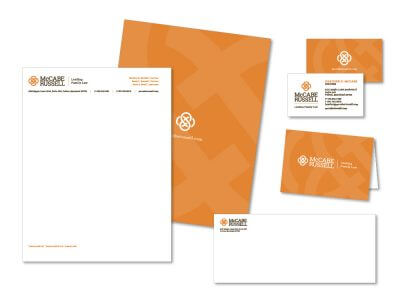 McCabe Russell stationery