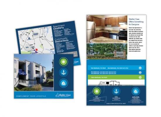 Shelter Cove apartments floor plan and information
