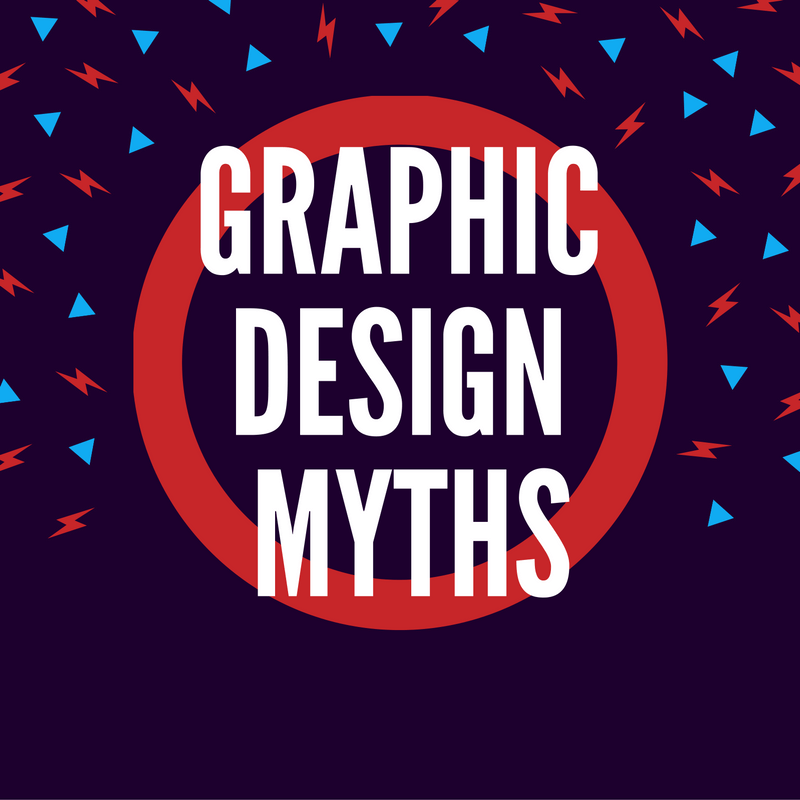 graphic design myths