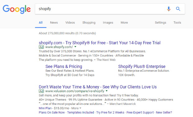Why You Should Bid on Branded Keywords - screenshot