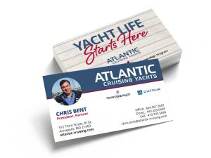 Atlantic Cruising Yachts Business Cards