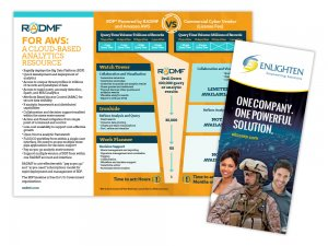 Enlighten flyer and brochure
