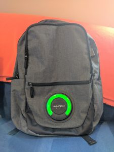 Backpack with Bluetooth