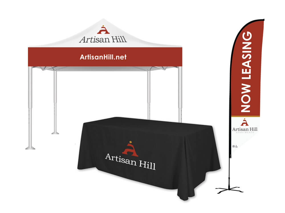 Artisan Hill Trade Show Signage