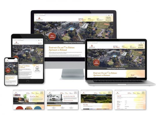 Artisan Hill Website on multiple devices
