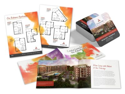Artisan Hill Brochure and Inserts
