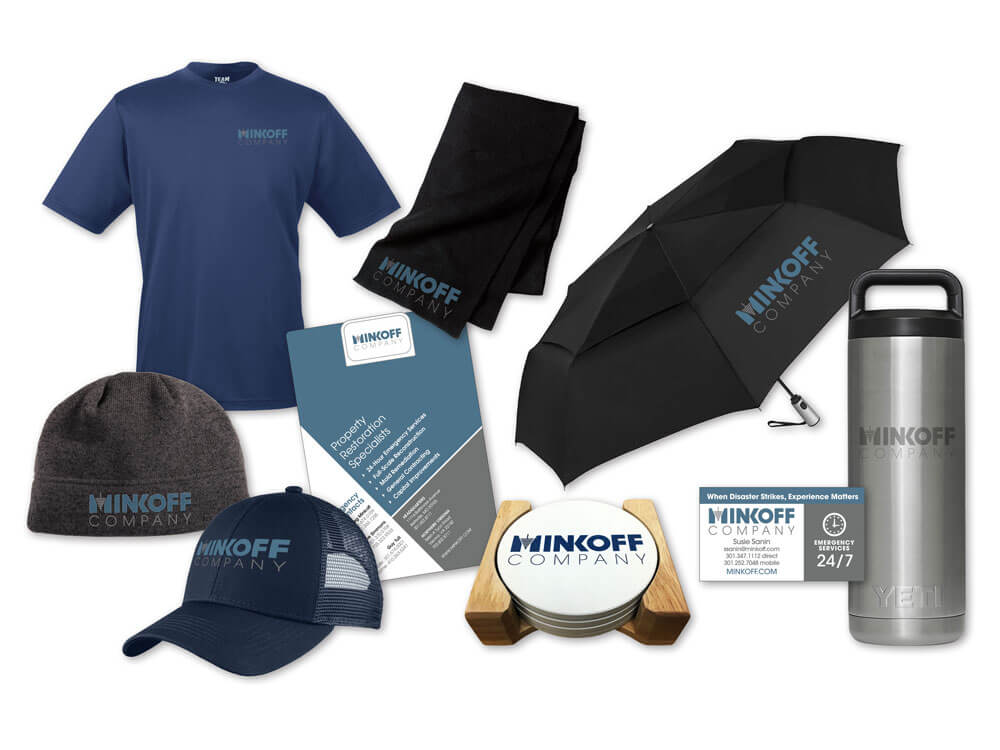 Minkoff Promo Products and apparel