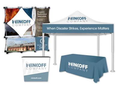 Minkoff Trade Show Signage