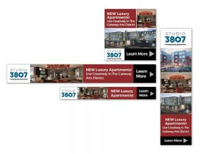 Studio 3807 Display Ads