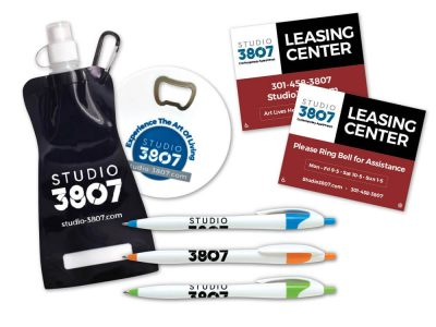 Studio 3807 Promo Products