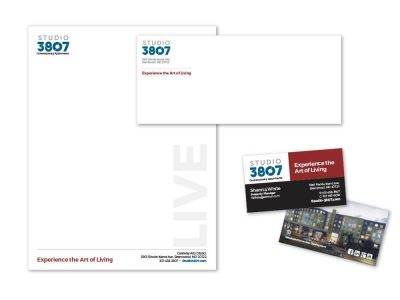 Studio 3807 Stationery