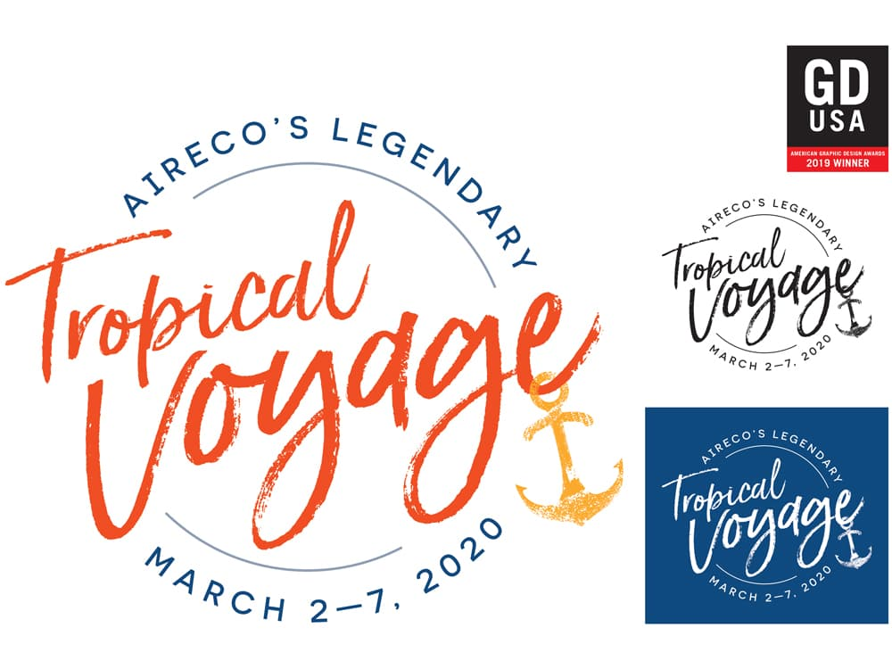 Aireco tropical Voyage logo