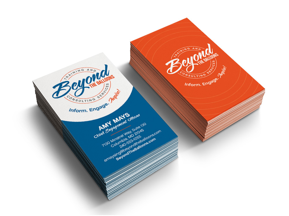 Beyond the Balloons Business cards