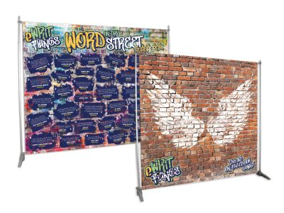 Multi Family Collections Booth Backdrops