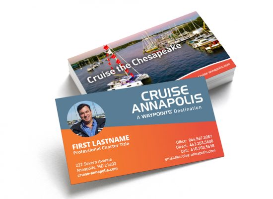 Cruise Annapolis Business Cards